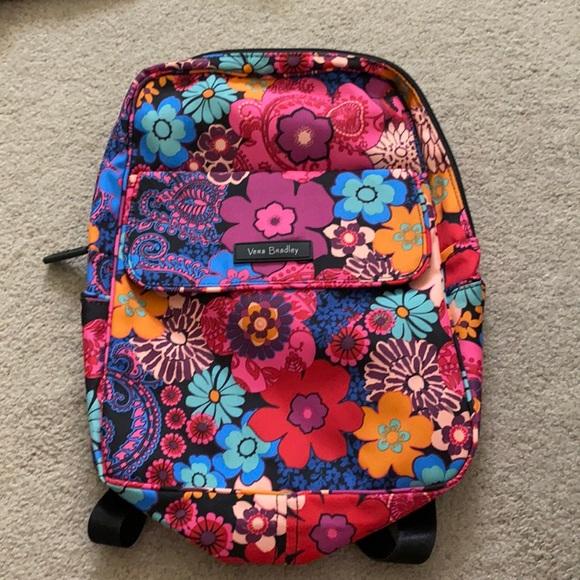 Vera Bradley floral nylon mini backpack